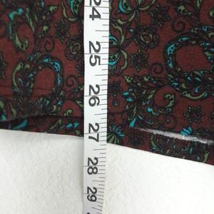 LuLaRoe Tops - 🔥Lularoe Raglan L/S Tee Floral Gray L Large Fall